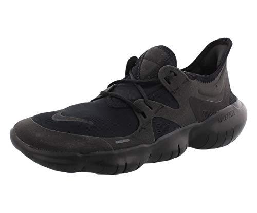 Nike Herren Free RN 5.0 Laufschuhe, Schwarz (Black/Black-Black 006), 43 EU