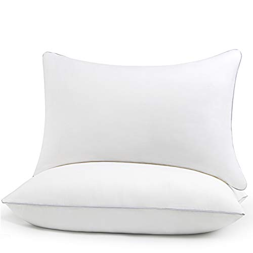 HIMOON Bed Pillows for Sleeping 2 Pack,Queen Size Cooling Pillows Set of 2,Top-end Microfiber C…
