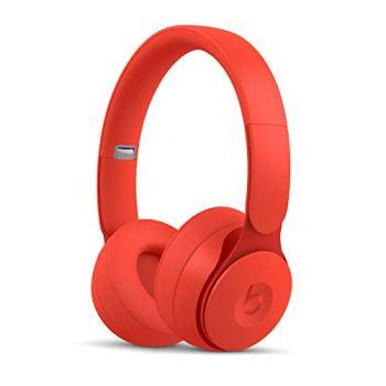 Casque Beats SoloPro sans fil à réduction de bruit - Collection More Matte - Rouge