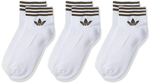 adidas TREF ANK SCK HC Calzini, Unisex Adulto, White/ Black, 3538