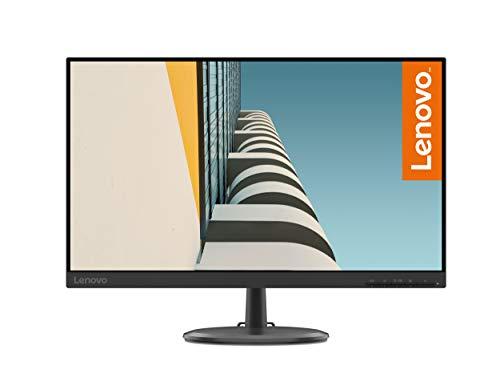 Lenovo C24-25 - Monitor de 23.8' FullHD (1920x1080 pixeles, 16:9, 75Hz, 4ms, 1000:1, Puertos VGA + HDMI, 3 lados, sin bordes) Color Negro