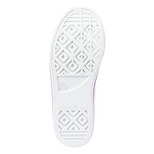 Image 2 - L O L Surprise! | Chaussures Baskets pour Filles | Beau Design Léger | École | Casual | Baskets Fuchsia à Imprimé Poupées Multiples | Velcro | EU 31 |