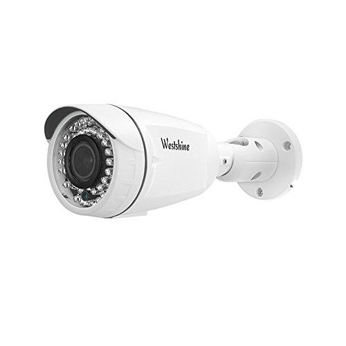 Westshine Home Security Bullet Camera 1080P 2.8-12mm varifocale bullet bullet Camera 4 in 1 AHD/TVI/CVI/CVBS Telecamera IR Cut 42 LED Night Vision Home Indoor Telecamere esterne