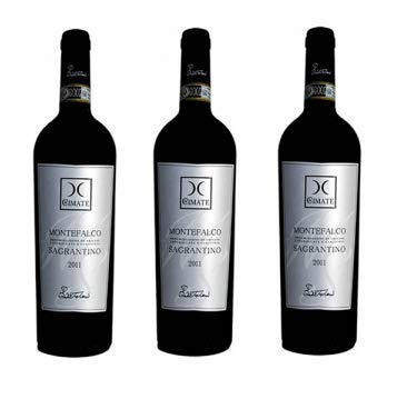 Vino Rosso Montefalco Sagrantino DOCG | 2013 | Le Cimate - 3 Bottiglie