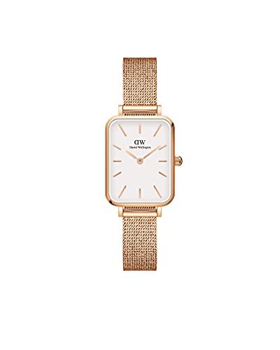 Daniel Wellington Damen-Uhren Analog Quarz One Size Roségold, Weiß 32018161