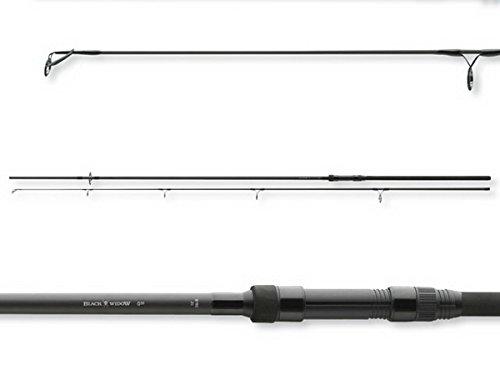 Daiwa, Black Widow - Canna da pesca per carpa, 1,4 kg, 3,6 metri