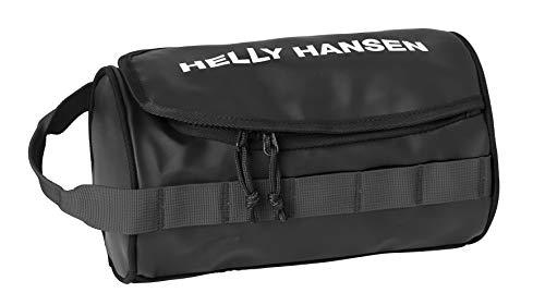 Helly Hansen Wash 2 - Bolsa de lavado, talla única, color Negro (990 Black/Off White/Birch)