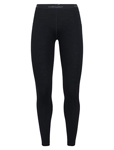 Icebreaker Merino Women's 260 Tech Leggings, Black, Small