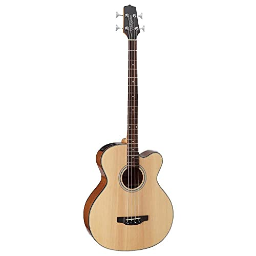 Takamine GB30CE Acoustic-Electric Bass Guitar Natural