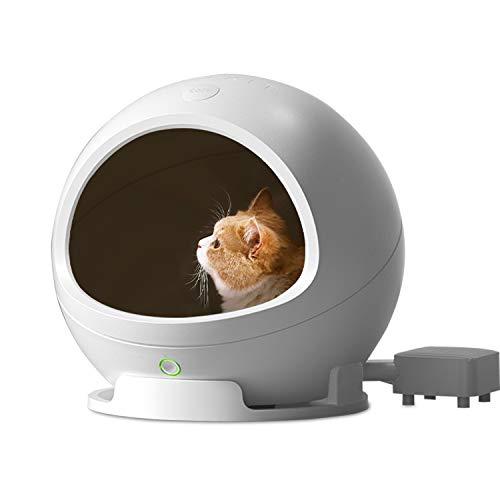 PETKIT 2.0 Nido Inteligente Frío y Cálido para Gatos,Sensor de Infrarrojos, Control Inteligente de Temperatura, Gato de Estación fría y Caliente, Cama Fría para Cachorros Cama Caliente