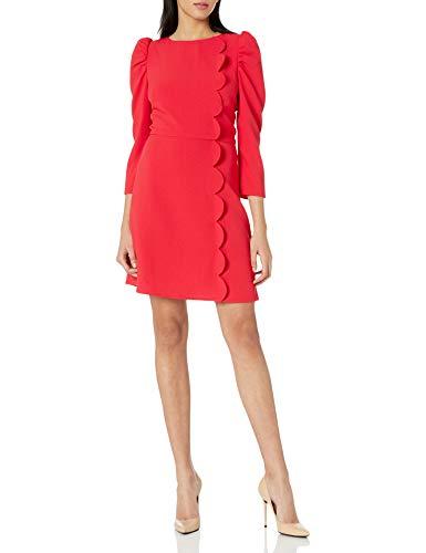 31q7k00fBKL Hidden back zipper A bold beautiful red
