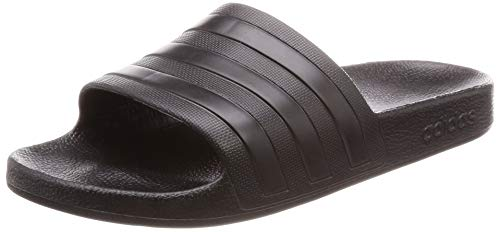 Adidas Adilette Aqua, Zapatos de Playa y Piscina Unisex Adulto, Negro (Black F35550), 43 EU