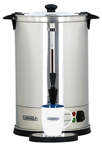 Casselin CPC100 - Percolateur à café 100 tasses - Noir, Acier inoxydable