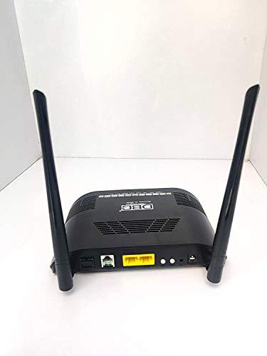 DBC Technologies FTTH GPON EPON ONU 1GE 1FE 1POTS WiFi Fiber ONT Modem Router (Black)