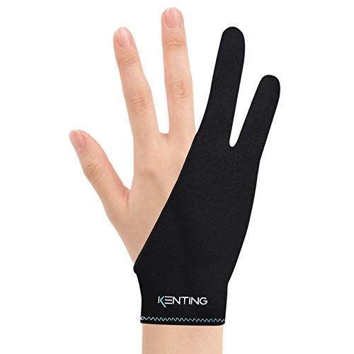 Kenting Antifouling - Guanto a due dita, misura libera per disegnare, tavoletta grafica a LED, per...