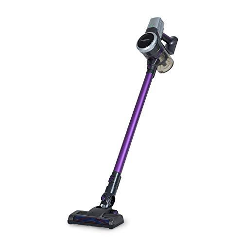 KLARSTEIN Clean Butler 4G Silent - Aspirapolvere senza Filo, Motore Digitale Silenzioso, Silent...