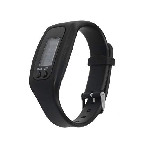 Hemobllo 2 Pezzi Orologio contapassi - Fitness Tracker Watch Pedometro per camminare Contapassi...