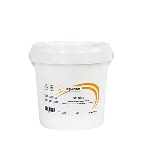 Sal Nitro - 1,1kg - Ideal para Curar y Conservar Embutidos