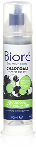 Biore Pore Minimización de carbón Exfoliante y profunda Limpia 92ml