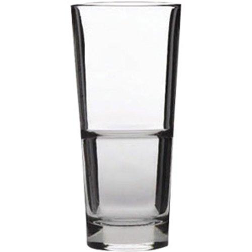 Libbey Hi-Ball Glass–Mezza Pinta. 283,5Gram. 285ml con Marchio CE. Confezioni 12.