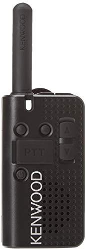 Kenwood PKT-23 Pocket-Sized UHF FM Portable Radio, 1.5 Watts, 4 Channels (Single Pack)