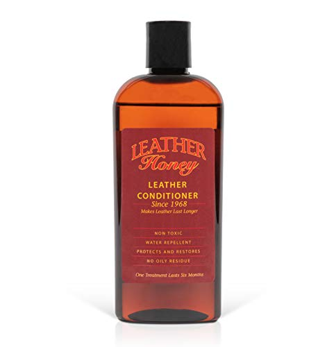 Leather Honey Leather Conditioner, Best Leather Conditioner Since 1968. for use on Leather Apparel,...