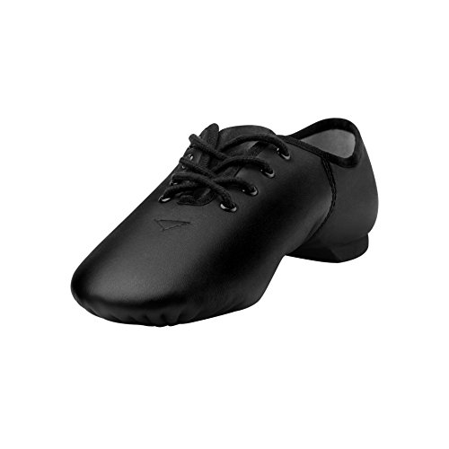 Linodes Leather Lace Up Unisex Jazz Shoe