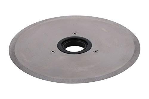Lama per affettatrice Ausonia 190 RGV 19 disco di ricambio lama liscia in acciaio cod.009