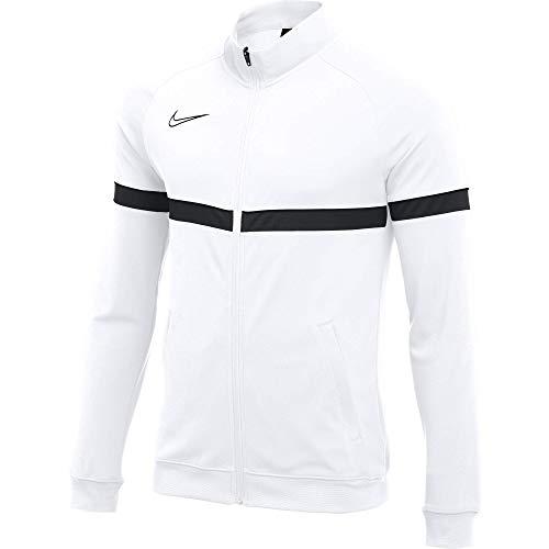 Nike, Dri-Fit Academy 21 , Giacca Sportiva, Bianco / Nero / Nero / Nero, m