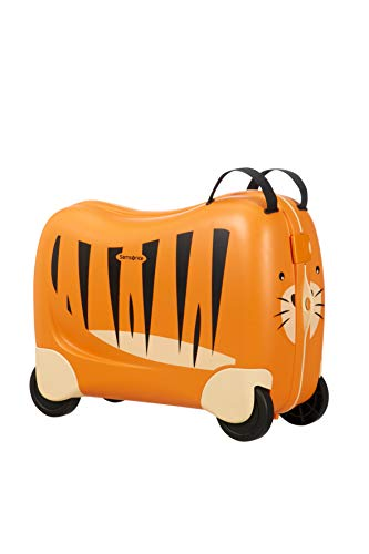 Samsonite Dream Rider - Valigia per Bambini, 51 cm, 28 l, Arancione (Tiger Toby)