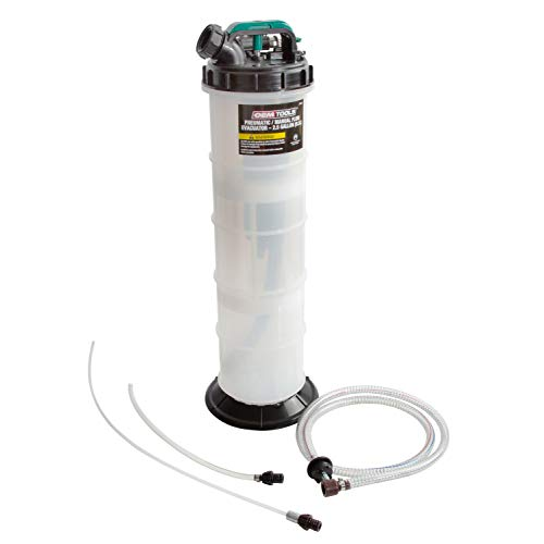 OEM TOOLS 24938 9.5 Liter Pneumatic/Manual Fluid Extractor, Oil,...