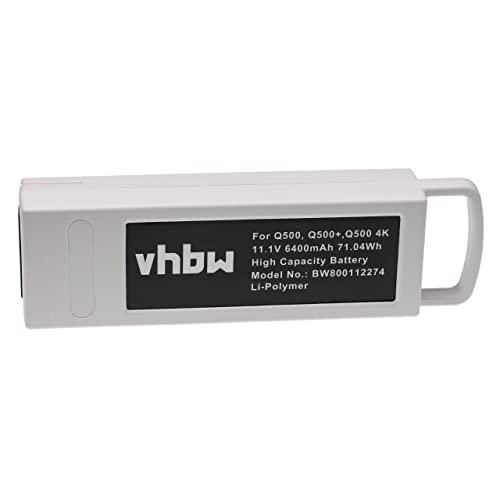 vhbw Batteria Polymer 6300mAh (11.1V) per Drohne Multicopter Quadrocopter Yuneec Q500, Q500 4K, Q500 4K Typhoon RC Drone, Q500 RC Drone, Q500+