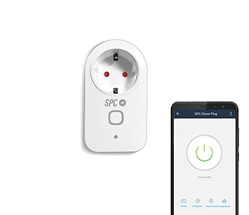 SPC Clever Plug – Enchufe Inteligente Wi-Fi