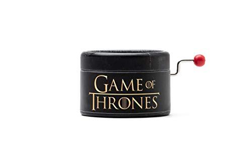 Caja de música de Juego de Tronos. El regalo perfecto para los fans. Cuidamos la calidad. Manivela de música manual. Game of Thrones GOT. Empaquetado para regalar.