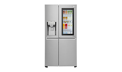 Lggsx961Neaz Freestanding 601L A++ Stainless Steel Side-By-Side Refrigerator - Side-By-Side Fridge-Freezers...