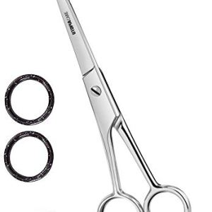 Professional Barber Hair Cutting Scissors/Shears (Silver) 30