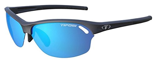 Tifosi 2016 Interchangeable Wasp Golf Sunglasses, Matte Black