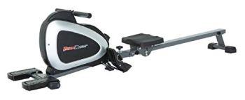Fitness Reality 1000 Plus rameur magnétique Bluetooth avec Exercices du Corps Entier en Option et Application MyCloudFitness