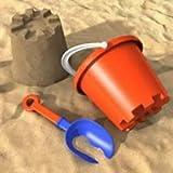 Sabbia naturale da gioco, 25 kg, 0-2 mm di grana, sabbia al quarzo, sabbia decorativa, per bambini, certificata Tüv, alta qualità, lavabile, priva di sostanze nocive