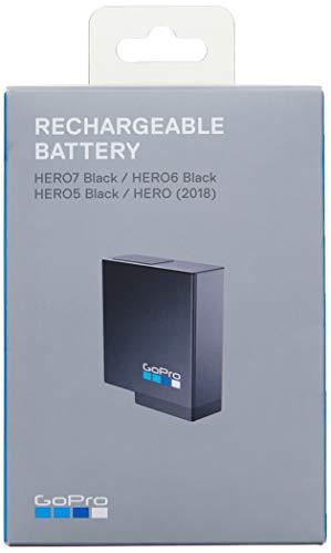 GoPro AABAT-001-ES Batteria ricaricabile GoPro per HERO7 Black, HERO6 Black, HERO5 Black o HERO 2018 (Accessorio GoPro ufficiale)