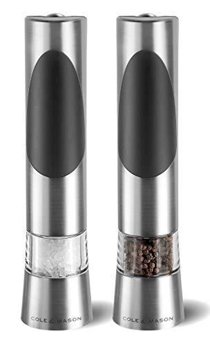 Cole & Mason Elektrische Mühlen, Chrome, 21.5 cm