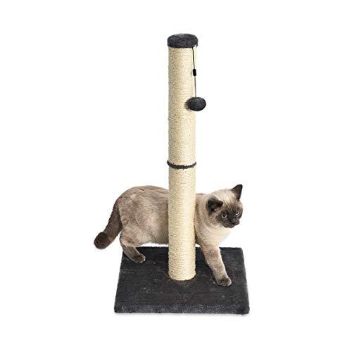 Amazon Basics Scratching Post for Cats, Medium, 40.6x40.6x81.3cm, Gray