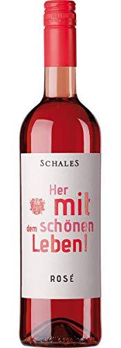 Her mit dem schönen Leben! Rosé Qualitätswein - feinherb 2019 (1 x 0.75)
