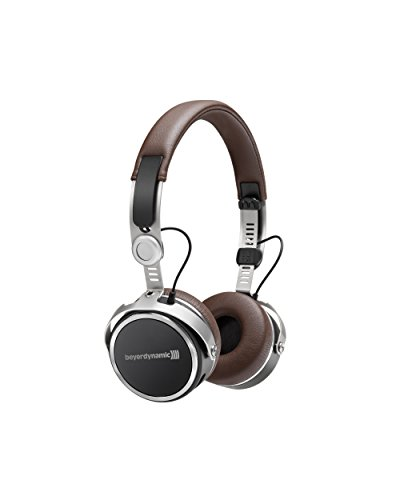 Beyerdynamic Aventho wireless On-Ear-Kopfhörer mit Klang-Personalisierung in braun. 30 Stunden Akkulaufzeit, Bluetooth kabellos, MIY App, Mikrofon
