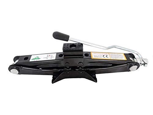 Scherenwagenheber 1000 kg Minimalhöhe 100 mm mit 17er Nuß-Anschluß