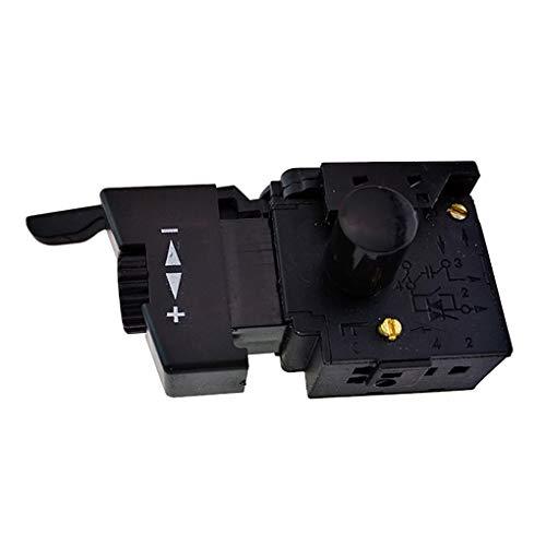Rekkles L'Alta qualit di Blocco 10A per Il Controllo della velocit Drill Power Tool Elettrico Trapano a velocit di Controllo Trigger Pulsante Interruttore