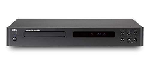 NAD C 538 HiFi CD Player Grafito Reproductor de CD - Unidad de CD (110 dB, 0,01%, MP3,WMA, 20-20000 Hz, CD de Audio, VFD)