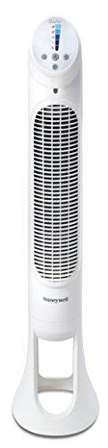 Honeywell HYF260E4 Ventilateur Tour QuietSet Puissant et Ultra Silencieux-avec télécommande-HYF260E, Blanc