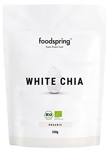 foodspring Bio Weisse Chia Samen, 250g, Das...