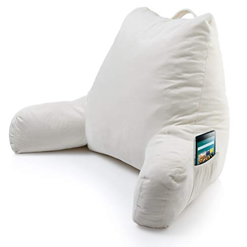Keen Edge Home Reading Pillow with Arms...